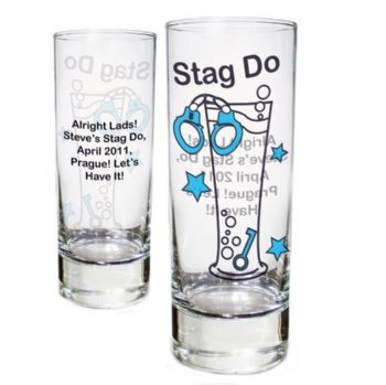 Stag Do Shot Glass